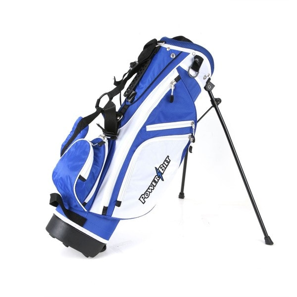 Powerbilt Golf Junior (Ages 5-8) Blue Stand Bag
