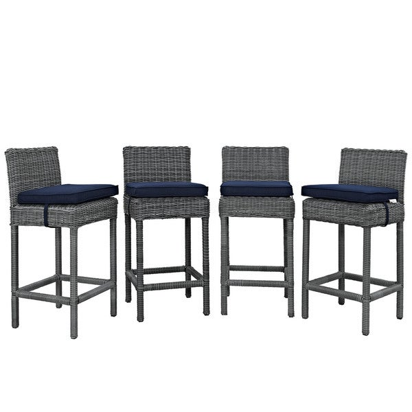 Invite Synthetic Rattan Outdoor Patio Bar Stool Set of 4  : Invite Bar Stool Outdoor Patio Set of 4 b7ae45d3 b40d 4c6f 938d ee01983287d5600 from www.overstock.com size 600 x 600 jpeg 31kB