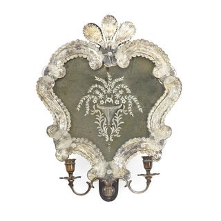 Double Sconce with Vintage Design