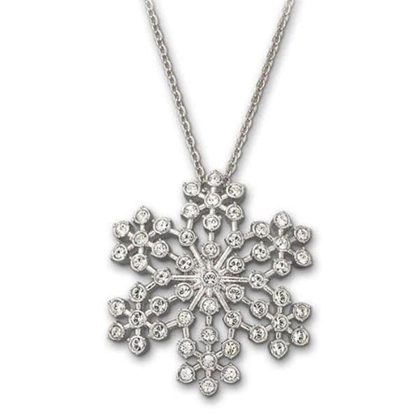 Bejeweled Snowflake Pendant