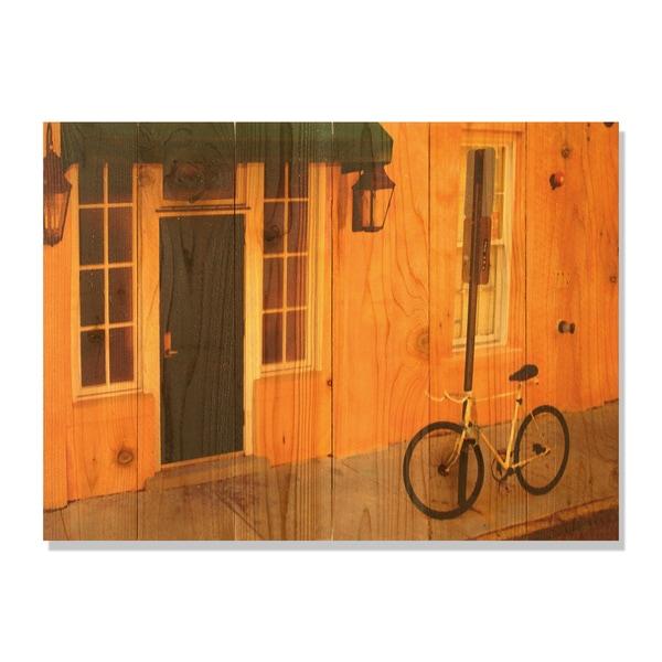 Curb Appeal 33x24 Indoor/ Outdoor Full Color Cedar Wall Art