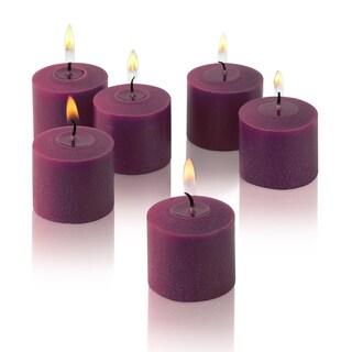 Purple Unscented Votive Candles (Set of 36)