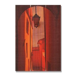 Arch Way 16x24 Indoor/ Outdoor Full Color Cedar Wall Art
