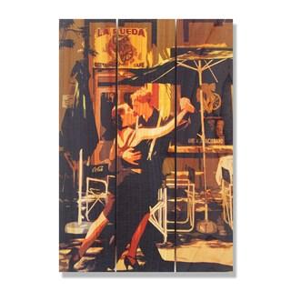 Argentine Tango 16x24 Indoor/ Outdoor Full Color Cedar Wall Art
