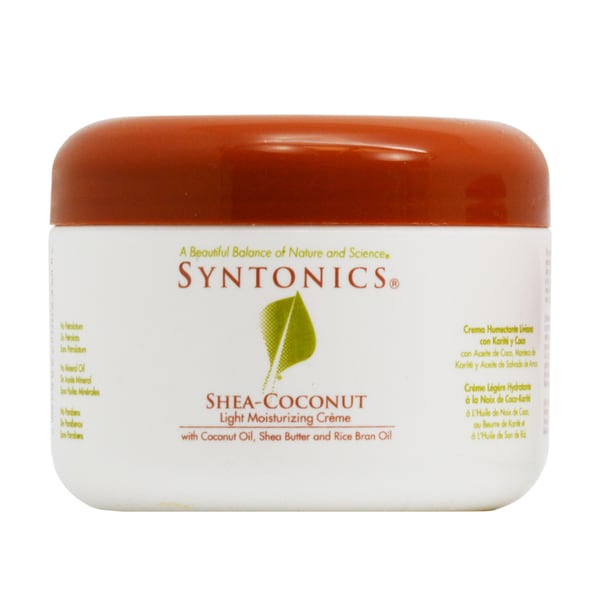 Syntonics Shea-Coconut Light Moisturizing 8-ounce Creme