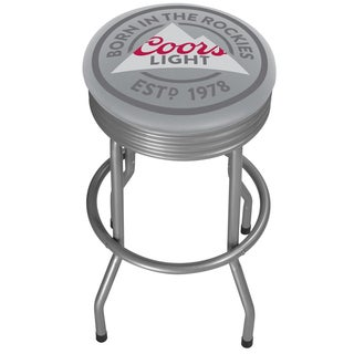 Coors Light Outdoor Ribbed Barstool