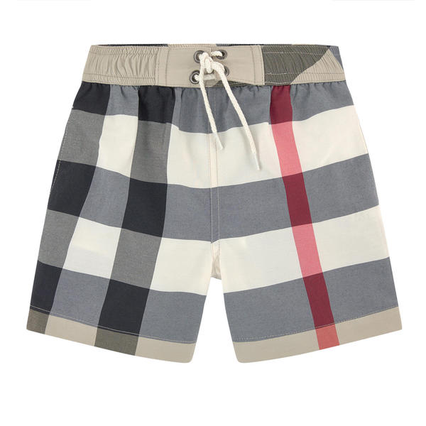 Burberry Boy's Classic Check Swim Shorts