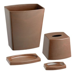My Earth Chocolate 4-piece Bathroom Set