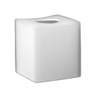 Captiva White Boutique Tissue Holder