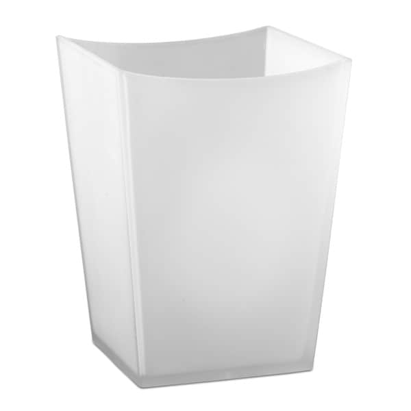 Captiva White Waste Basket