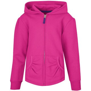 Hanes Girls' Full-Zip Hooded Sweatshirt