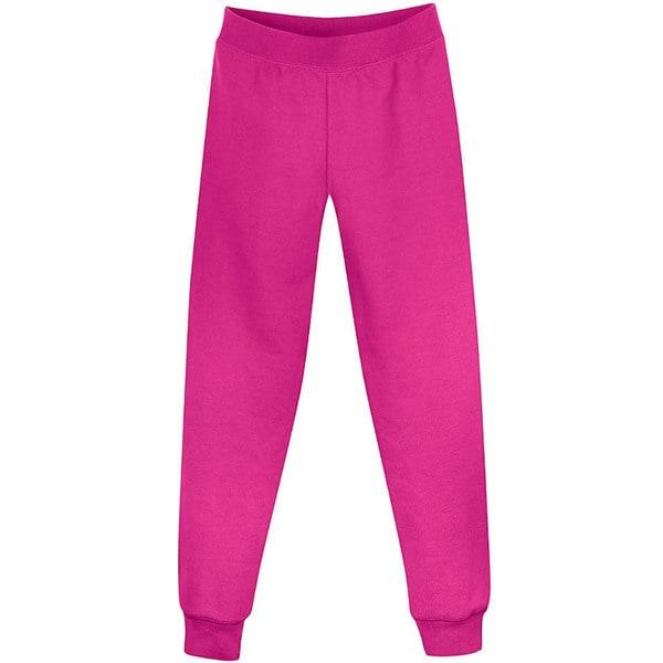 Hanes Girls' Fleece Slim Leg Sweatpants