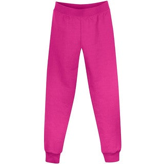Hanes Girls' Fleece Slim Leg Sweatpants