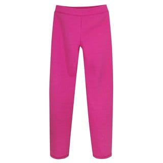 Hanes Girls' Fleece Open Bottom Sweatpants