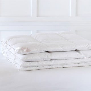 Alexander Comforts Cambridge Medium Weight White Goose Down Comforter
