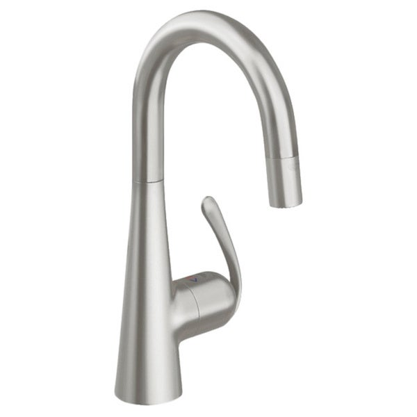 Grohe Ladylux Single Hole Kitchen Faucet 32283DC0 SuperSteel