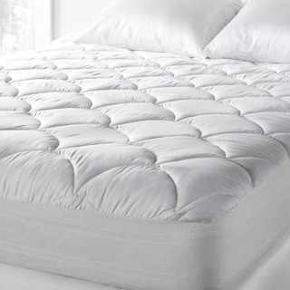 Tommy Bahama 300 Thread Count Cotton Sateen Easy Care Cooling Mattress Pad