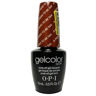 OPI A-Piers to Be Tan GelColor