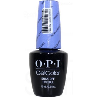 OPI Show Us Your Tips GelColor
