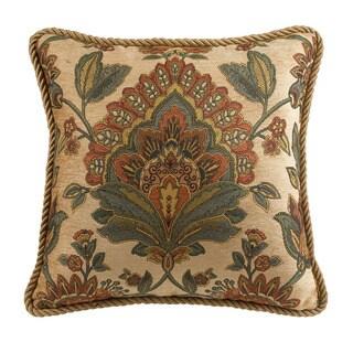 Croscill Minka 18x18 Square Throw Pillow