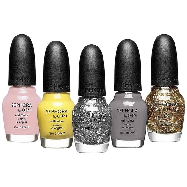 OPI Sephora 5-piece Nail Lacquer Colour Collection
