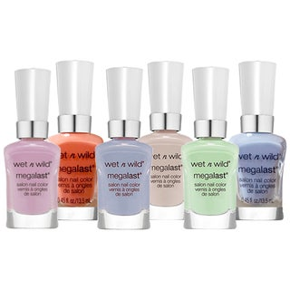 Wet 'n Wild Mega Last Nail Color Polish Set 6-piece Collection