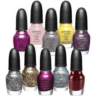 OPI Sephora 10-piece Nail Polish Colour Collection