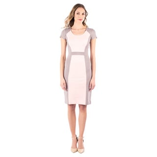 DownEast Basics Women's Colorblock Dress