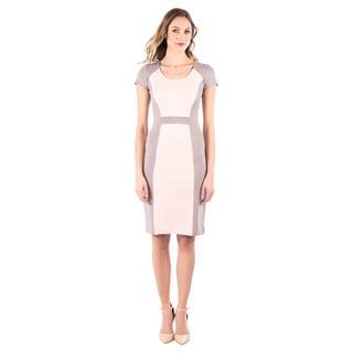 DownEast Basics Women's Colorblock Dress