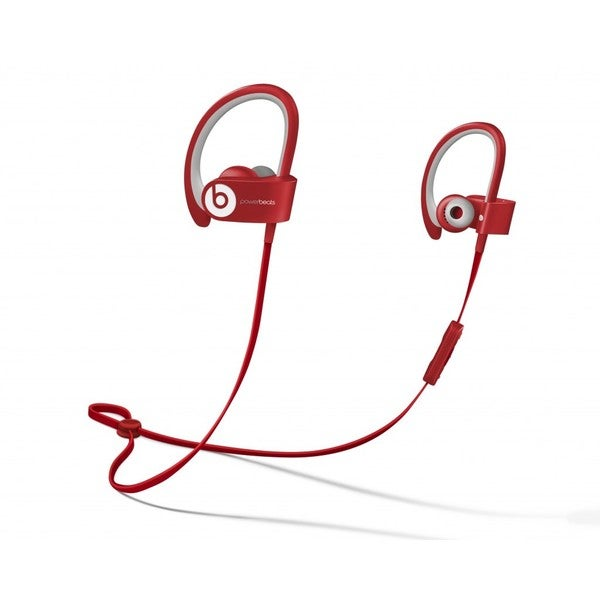 Beats PowerBeats 2 Bluetooth Headphones - Red (Refurbished)