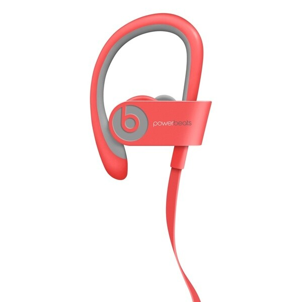 Beats PowerBeats 2 Bluetooth Headphones - Pink (Refurbished)