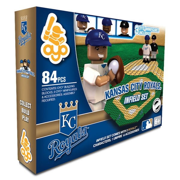 Kansas City Royals MLB 84-piece Infield Set 2.0 18108737
