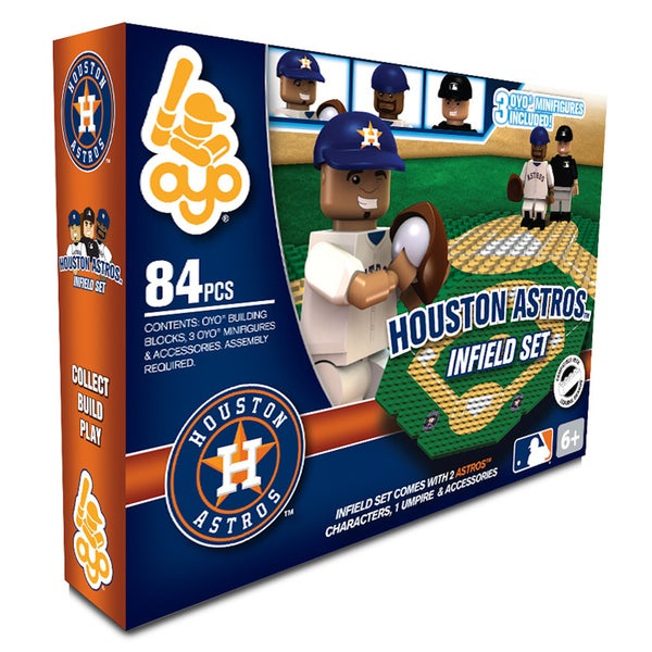 Houston Astros MLB 84-piece Infield Set 2.0 18108738