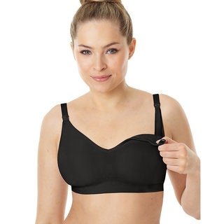 Playtex Nursing Seamless Wirefree Bra with X-Temp Cooling Technology