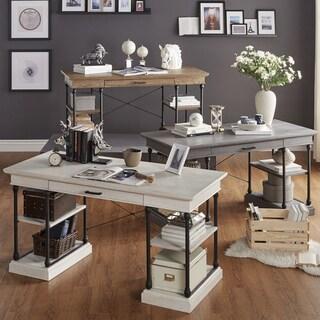 SIGNAL HILLS Barnstone Cornice 1-drawer Storage Writing Desk