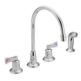 Moen M-Dura Widespread Kitchen Faucet 8242 Chrome