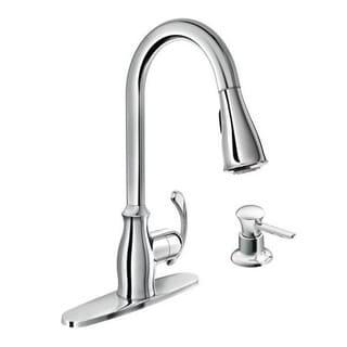 Moen Kipton Single Hole Kitchen Faucet 87910 Chrome