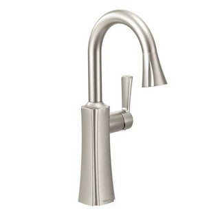 Moen Single Hole Bar Faucet S62608SRS Spot Resist Stainless