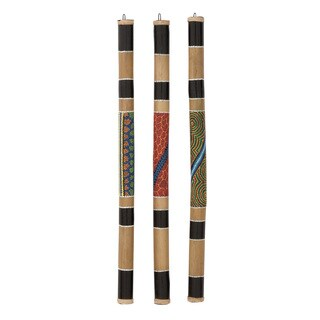 Bamboo Rainstick 3 Assorted 2-inch wide x 40-inch long