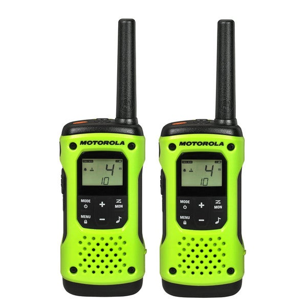Green T600 H2O Rechargeable Floating 2-Way Radio Twin Pack
