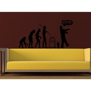 Evolution Halloween Wall Art Sticker Decal 18113520