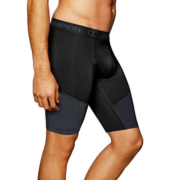 Champion PowerFlex 9 Inch Inseam Men's Solid Compression Shorts 18113659