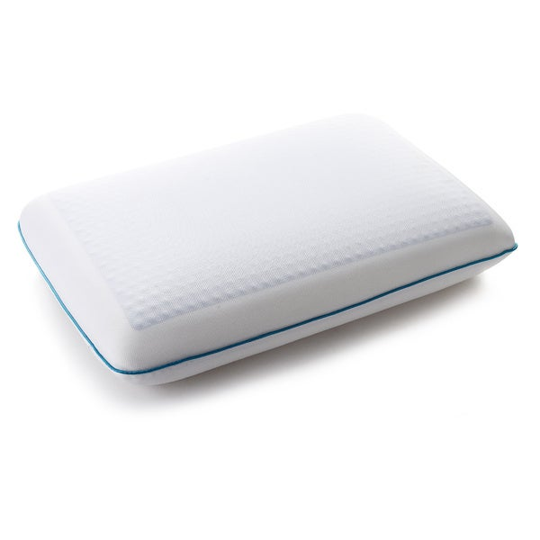 Cheer Collection Memory Foam Pillow with Gel
