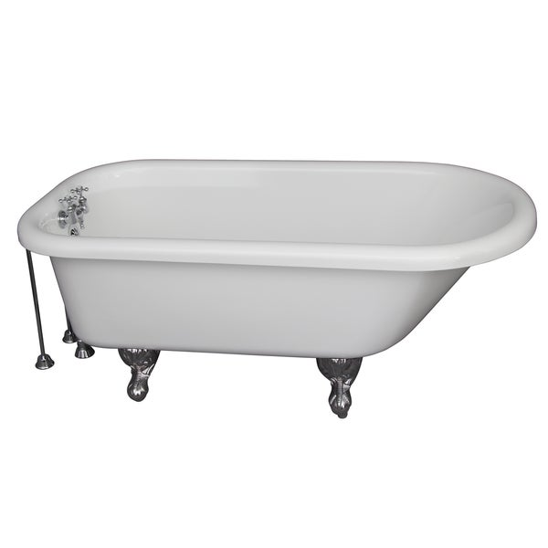 Acrylic Roll Top Tub Kit by Barclay