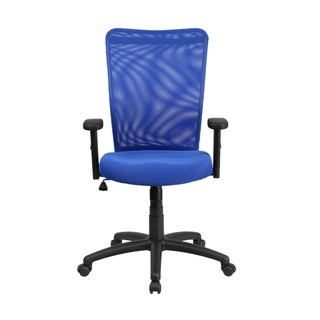 Offex High Back Mesh Executive Ergonomic Swivel Office Chair With Arms