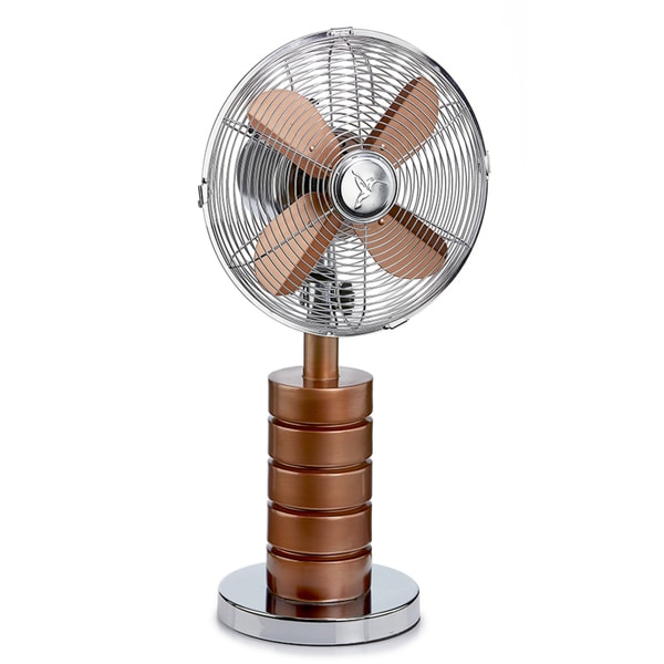 Devo Copper Table Fan