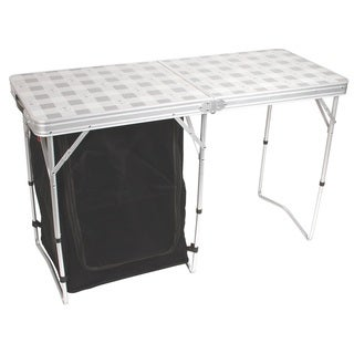 """Coleman Store More Cupboard Table 17"""" x 18.8"""" x 29.3""""."""