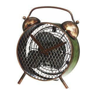 Alarm Clock Figurine Fan