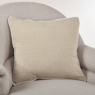 Soft Cotton Classic 20-inch Down Filled Throw Pillow