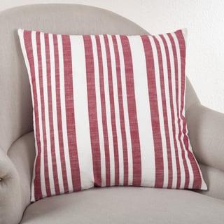 Nautical Striped Down Filled Throw Pillow